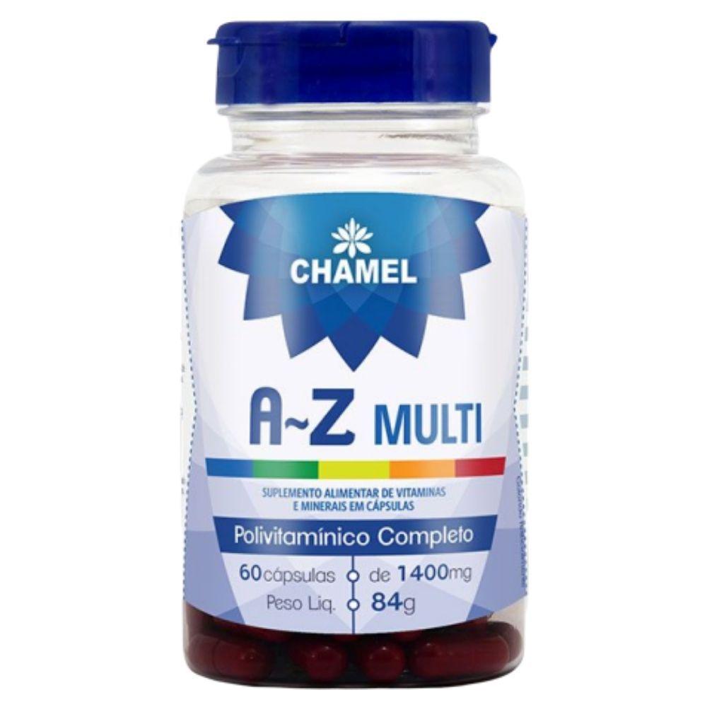 AZ Multi – Polivitamínico completo 60 capsulas de 1400mg CHAMEL