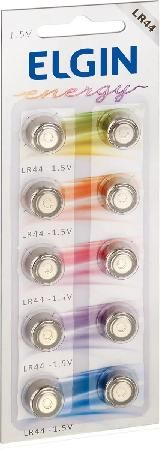 Bateria Alcalina LR44 C/10 82194