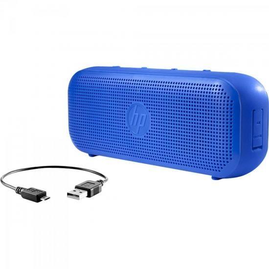 Caixa Multimidia 4W RMS Bluetooth S400 AZUL HP