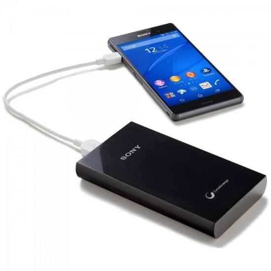 Carregador Portatil USB 10000MAH CP-V10A Preto SONY