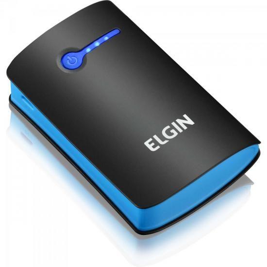 Carregador Portatil USB 5200MAH CP-5200 PRETO/AZUL ELGIN