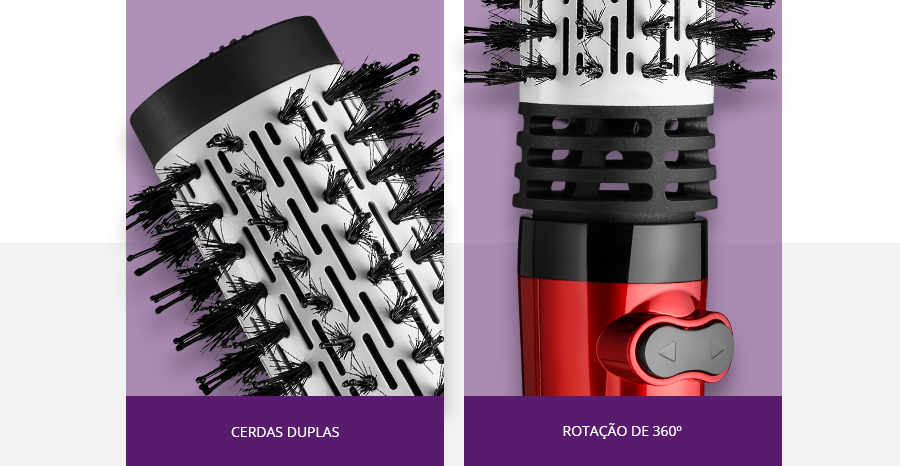 Chapinha Prancha Alisadora de Cerâmica Super Mini Preta Taiff  +  Escova Rotativa Beauty 1000W Vermelha 220V Multilaser