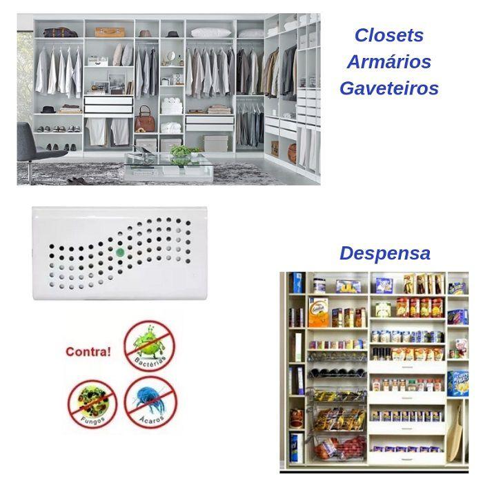 Desumidificador Antimofo Eletrônico Anti Ácaro E Fungos
