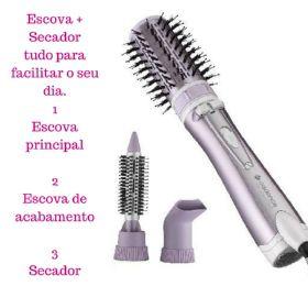 Escova Rotativa Real Beauty PRO ESC600 Bivolt 1000W