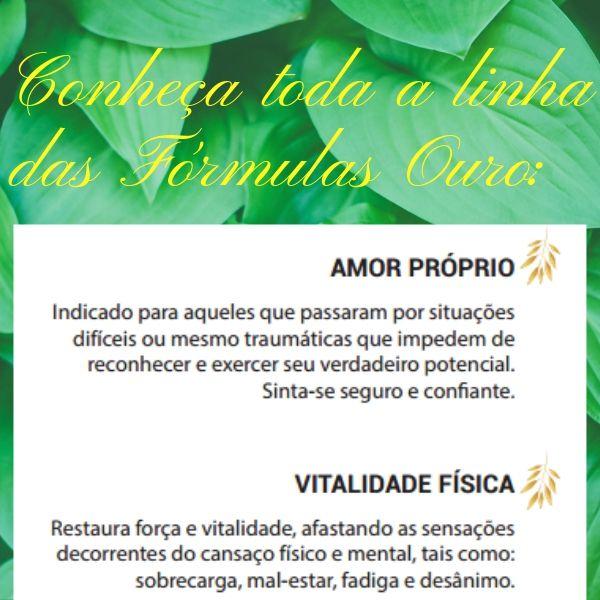 Floral Vibracional - Curando  o Passado -  Fórmula Ouro - Segredos da Natureza
