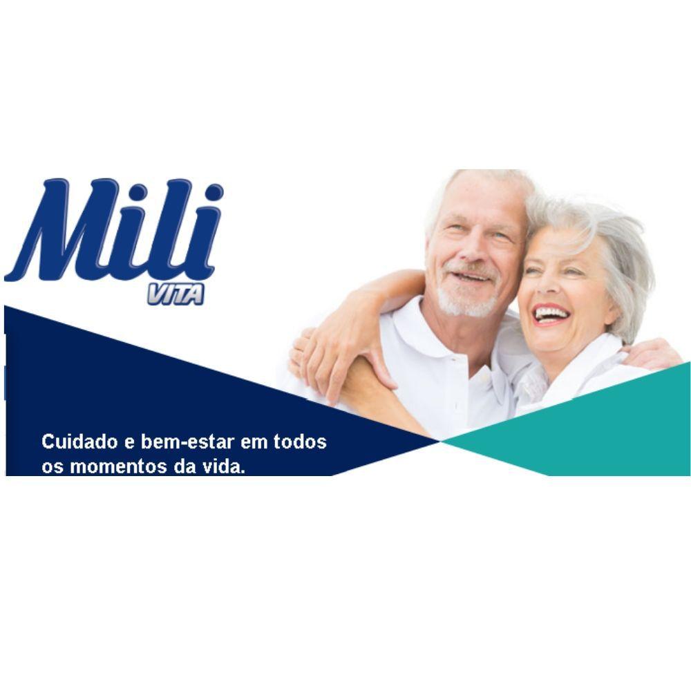 Fralda Geriátrica  Mili Vita Adulto Incontinência Pós Operatório  - Tamanho G  4 Pacotes de 8 unidades    Total: 32 Fraldas