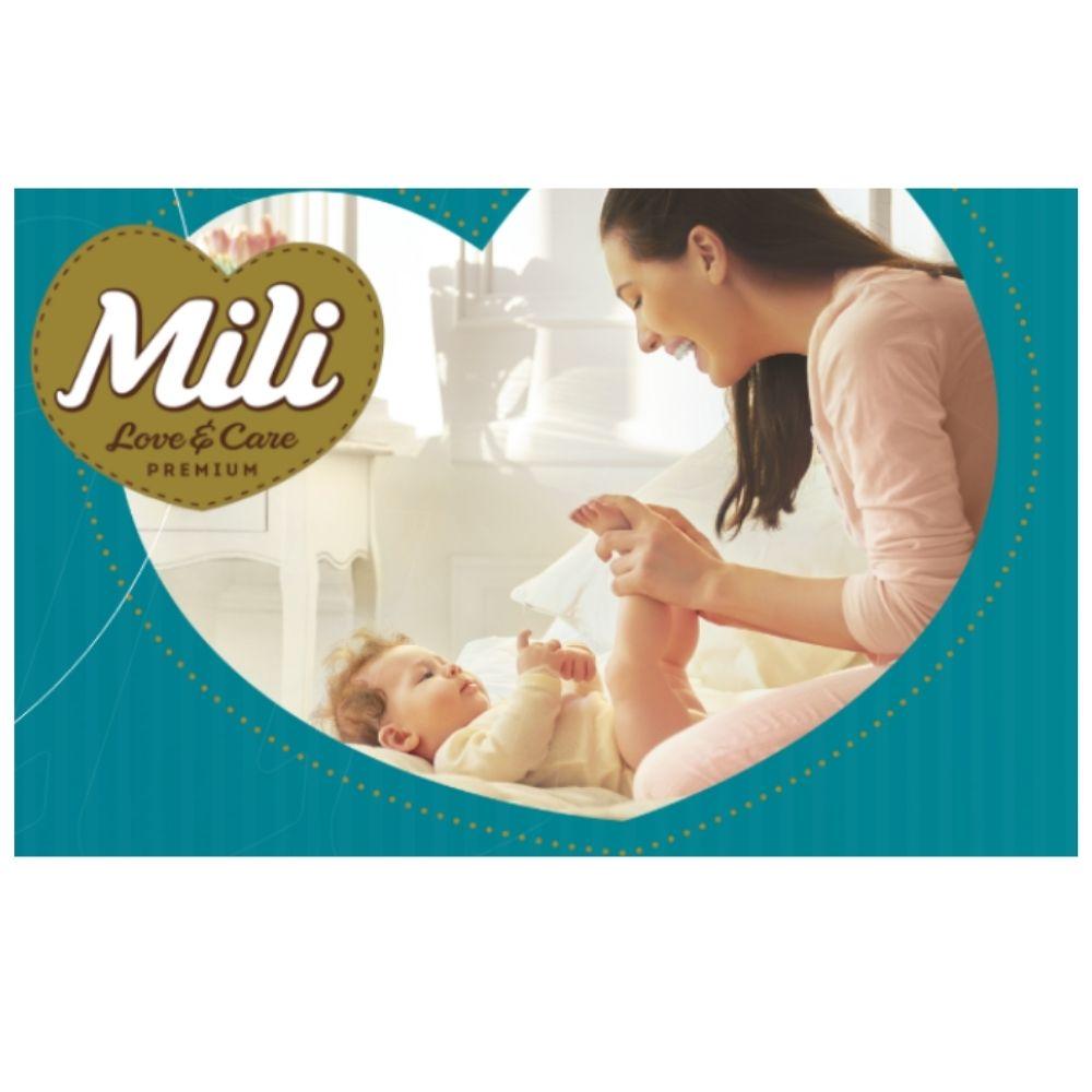 Fralda Descartável Mili Giga Love & Care Premium   Tam: M - 104 fraldas
