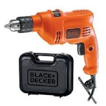 Furadeira BLACK   Decker KIT Maleta 550 WATTS - HD500KS-B2