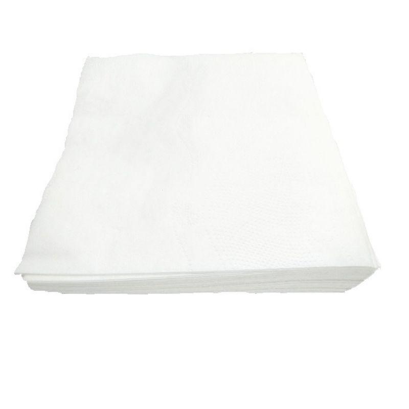 Guardanapo de Papel Folha Dupla 23x22 - 12 pacotes de 50 unidades (total: 600)