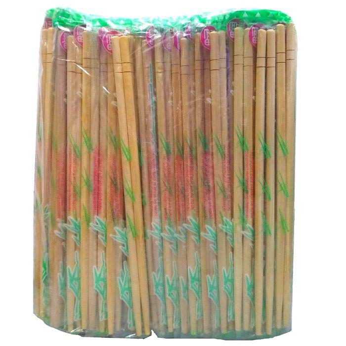 Hashi De Bambu - 12 Pares - Waribachi - Descartável