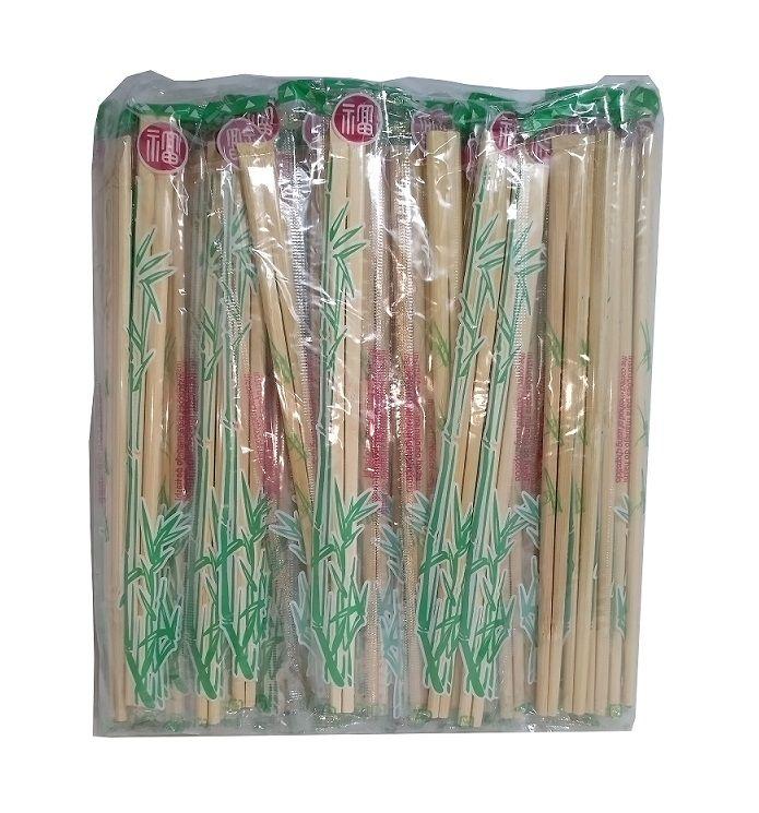 Hashi de Bambu - 2 Pacotes c/ 100 unidades- Waribashi (total: 200 pares)