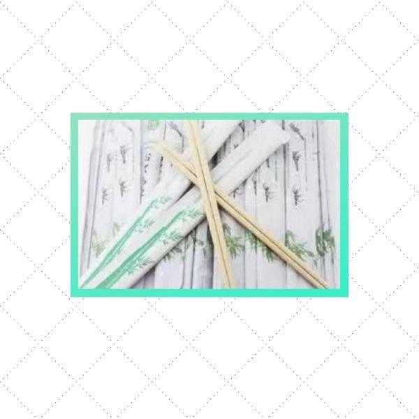 Hashi de Bambu Descartável -Waribashi - 50 pares - GW