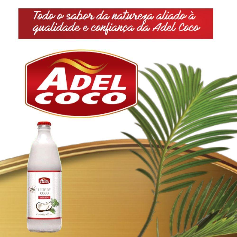 Leite de Coco Adel 500ml