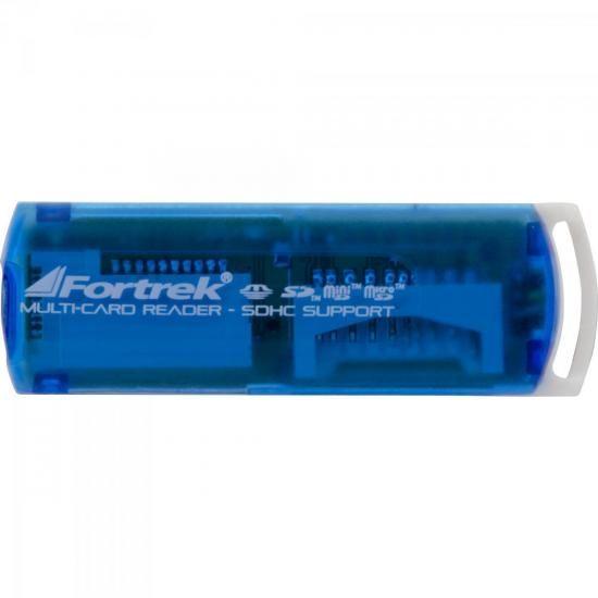Leitor de Cartao de Memoria USB 11 em 1 LDC-102 Fortrek