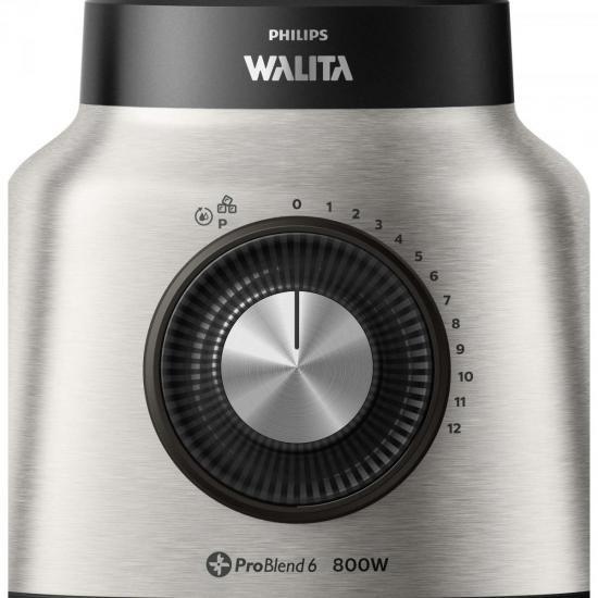 Liquidificador Problend 6 Laminas Duravita INOX RI2137 220V Philips Walita