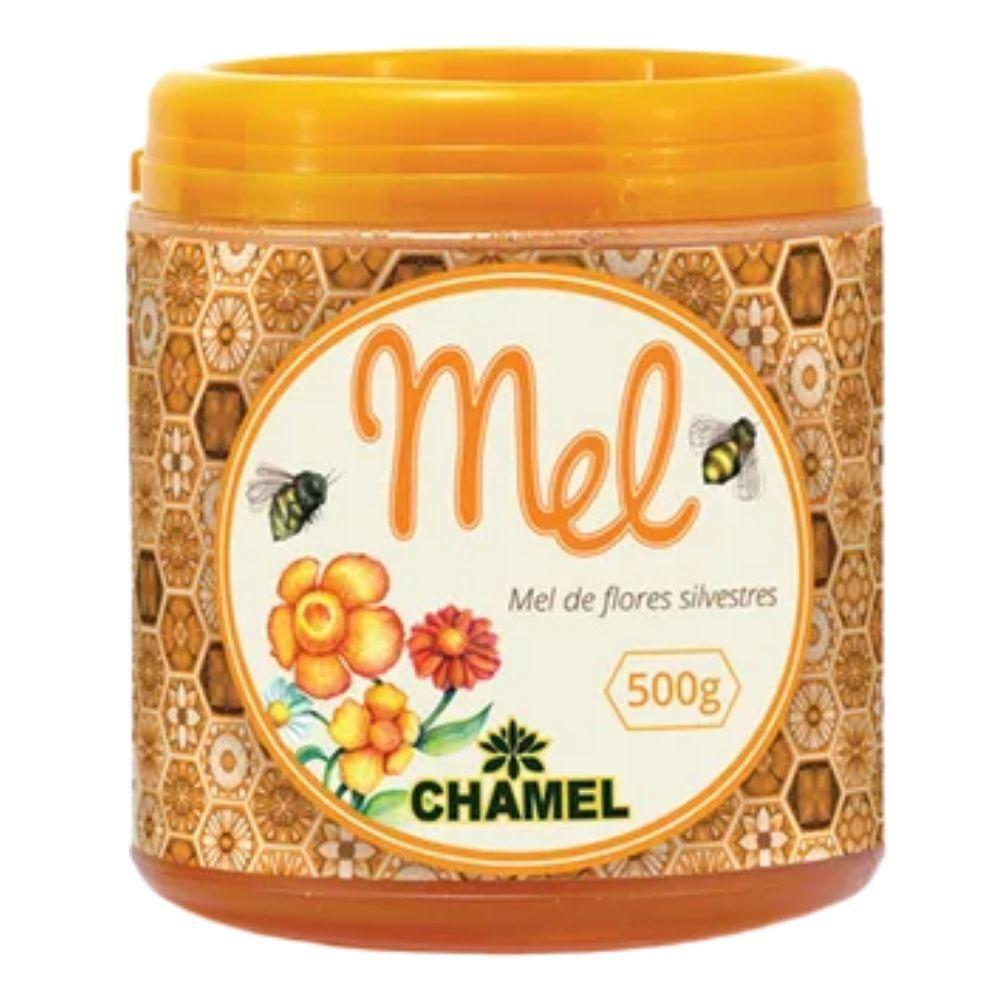 Mel Silvestre 100% Puro  Pote com 500g - Chamel