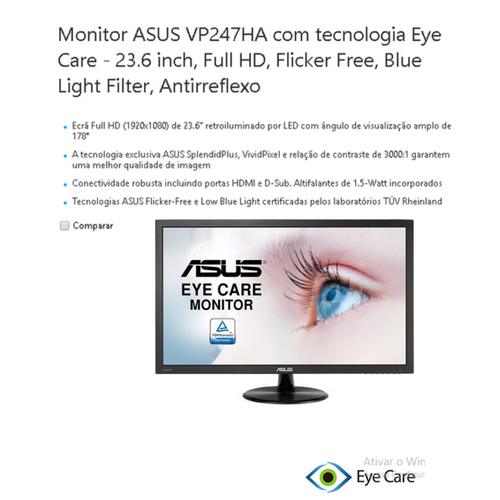 """Monitor 24"""" ASUS VP 247HA BK/5MS 90LM01L0-B013X0"""