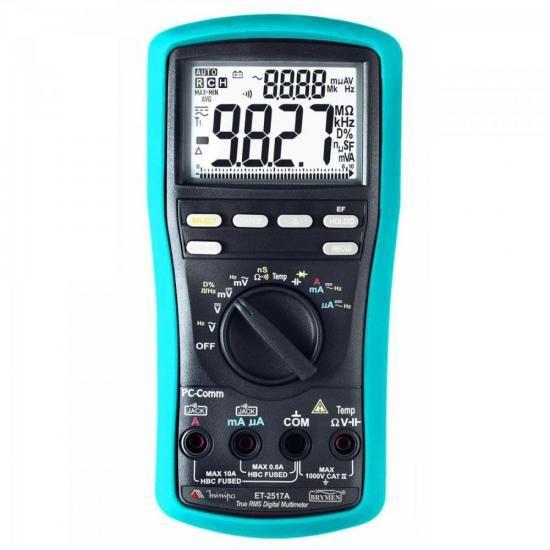 Multimetro Digital ET2517A Minipa