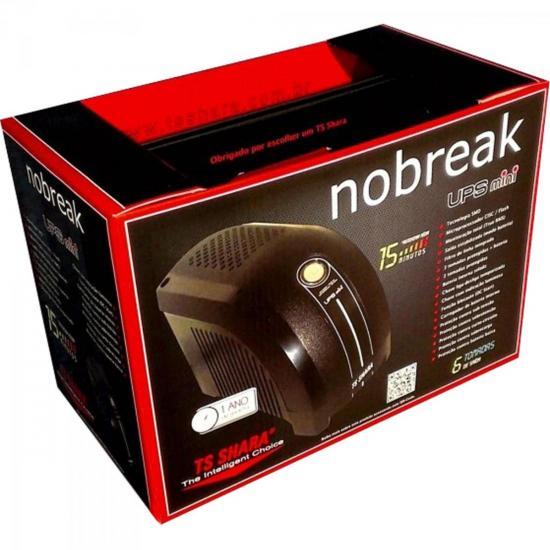Nobreak 600VA UPS Mini Bivolt Preto TS Shara