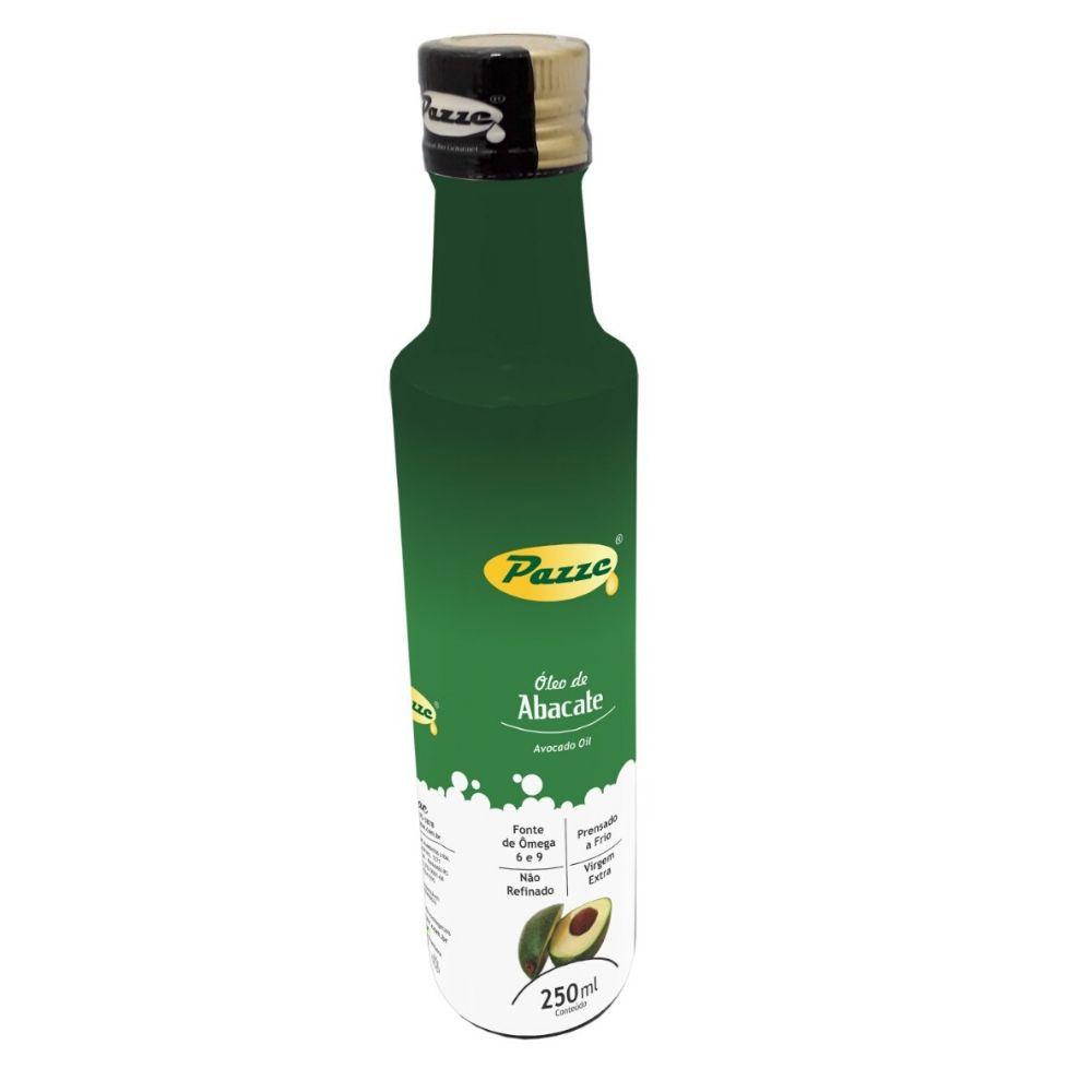 Óleo de Abacate 250ml - Virgem Extra-  Prensado a frio-  Não Refinado- Pazze