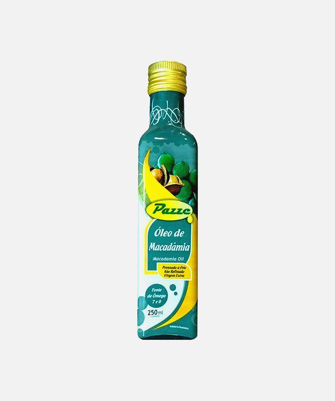 Óleo de Macadâmia -  Virgem Extra - Prenssado a frio - Pazze - 250 ml