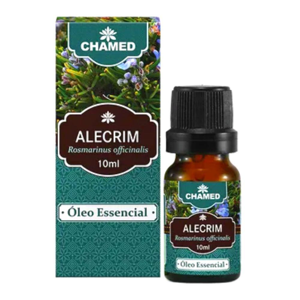 Óleo Essencial de Alecrim 10ml - 100% Puro - Chamel