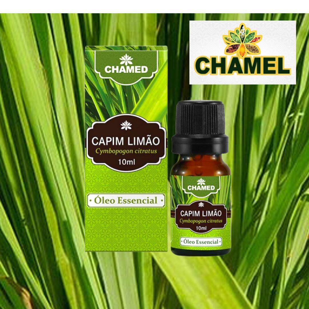 Óleo Essencial de Capim Limão 10ml – 100% Puro Chamel