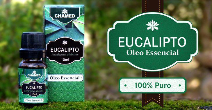 Óleo Essencial de Eucalipto Globulus 10ml – 100% Puro Chamed