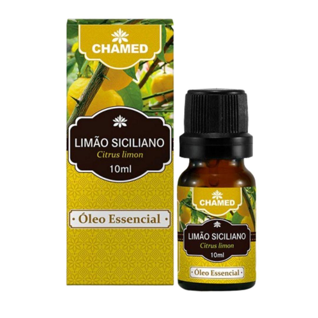 Óleo Essencial de Limão Siciliano 10ml  100% Puro Chamel