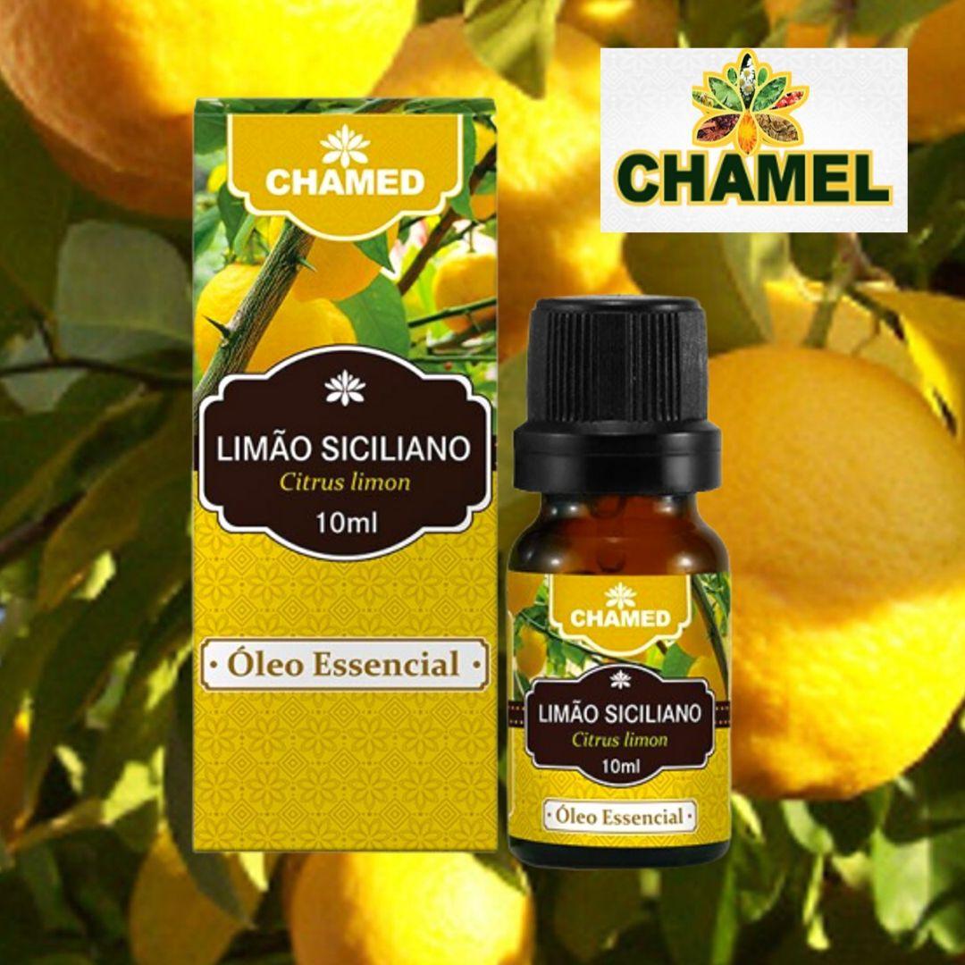 Óleo Essencial de Limão Siciliano 10ml  100% Puro Chamed