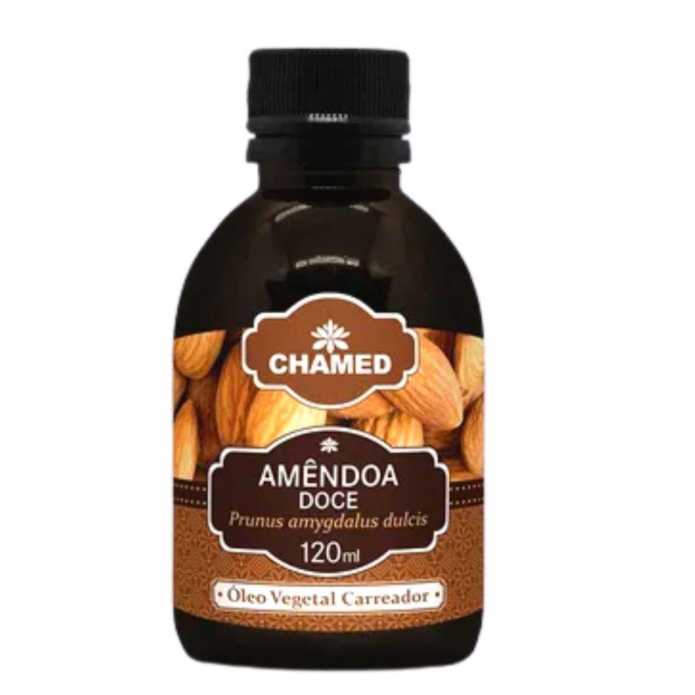 Óleo Vegetal de Linhaça Dourada 120ml  Chamed  (Fabricante Chamel) 100% Puro