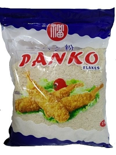 Panko - 4 Pacotes de 1 Kg - Farinha especial para tempurá