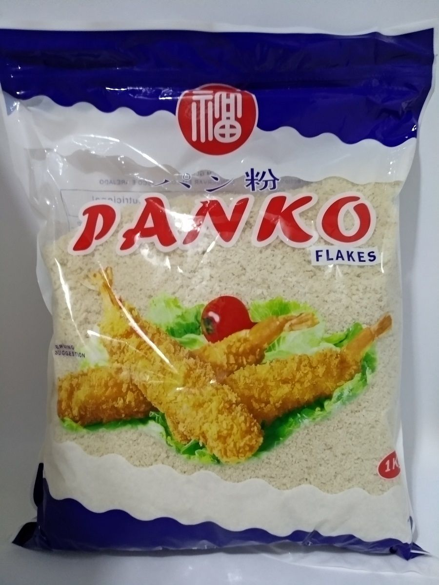 Panko - 6 Pacotes de 1 Kg - Farinha especial para tempurá