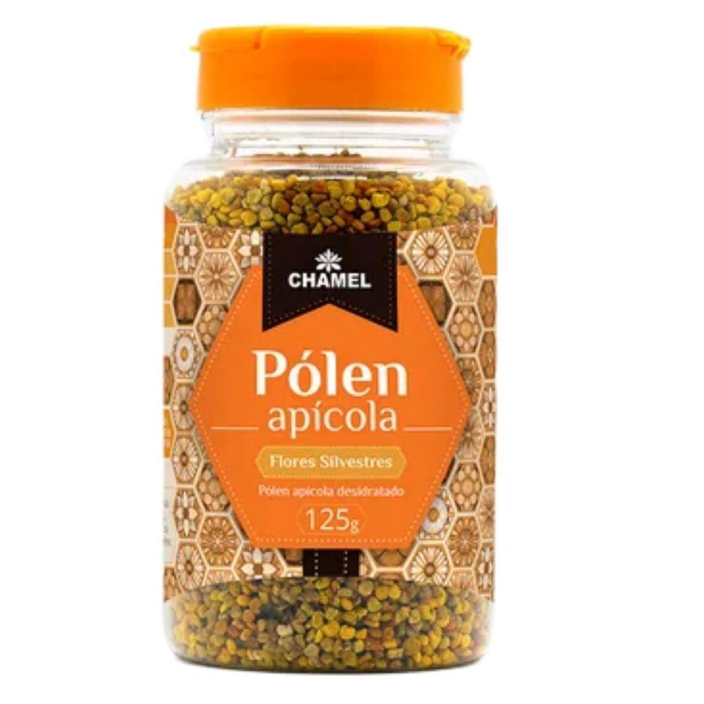 Pólen Apícola Desidratado  100% Puro  125g  Chamel