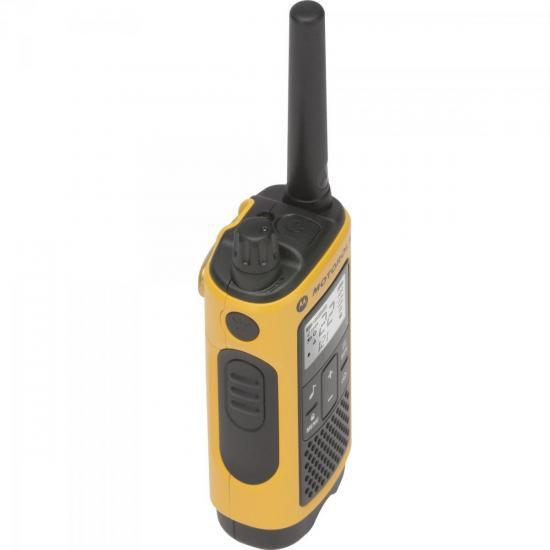 Radio Comunicador Talkabout 35KM T400BR Amarelo Motorola