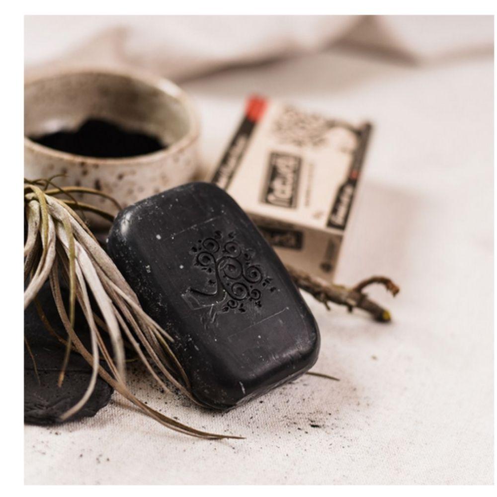 Sabonete Natural com Carvão Ativado 80g (Vegano)