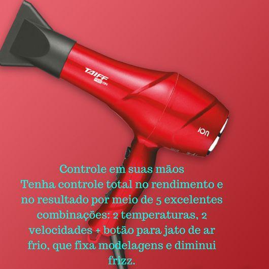 Secador de Cabelo 1900W 127V RED ÍON Vermelho *TAIFF