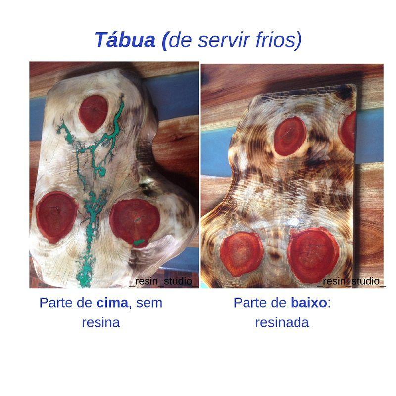Tabua de Frios/Carne -  Madeira