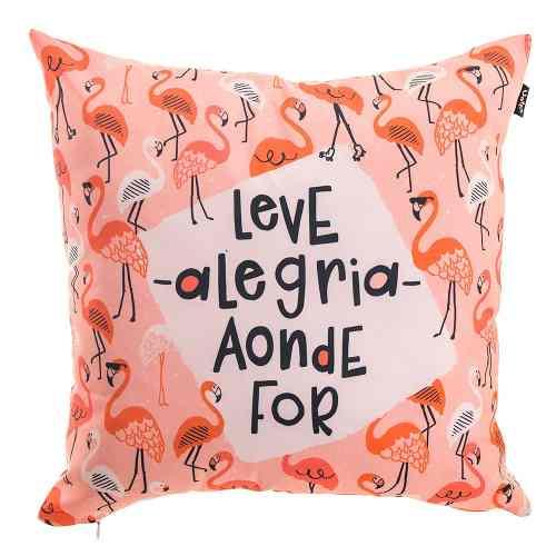 Capa De Almofada Flamingo Uatt