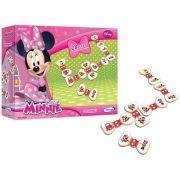 Dominó Minnie Disney 28 Peças Em Madeira Xalingo