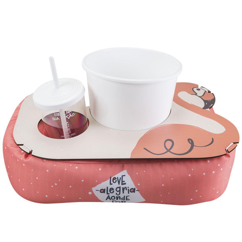 Almofada de Pipoca Shape Flamingo Uatt