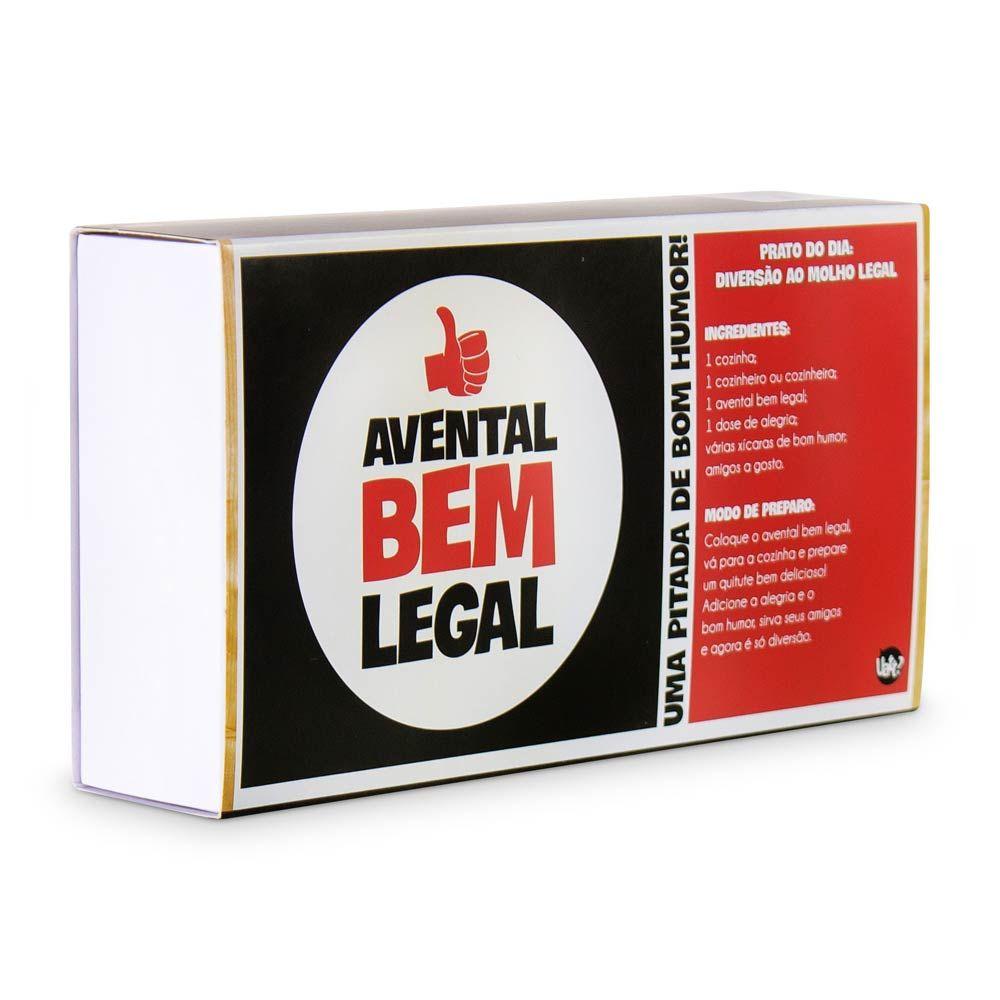 Avental Bem Legal Piloto Uatt