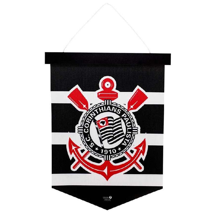 Bandeirola Brasão Corinthians Ideias Ideias
