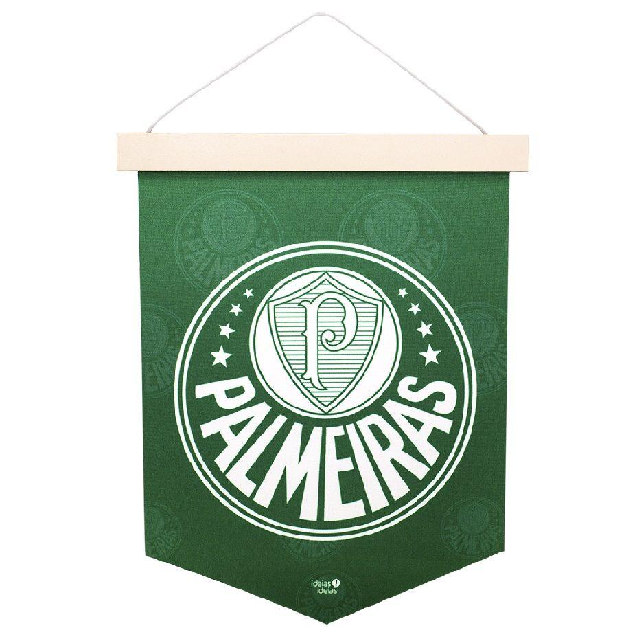Bandeirola Brasão Palmeiras Ideias Ideais