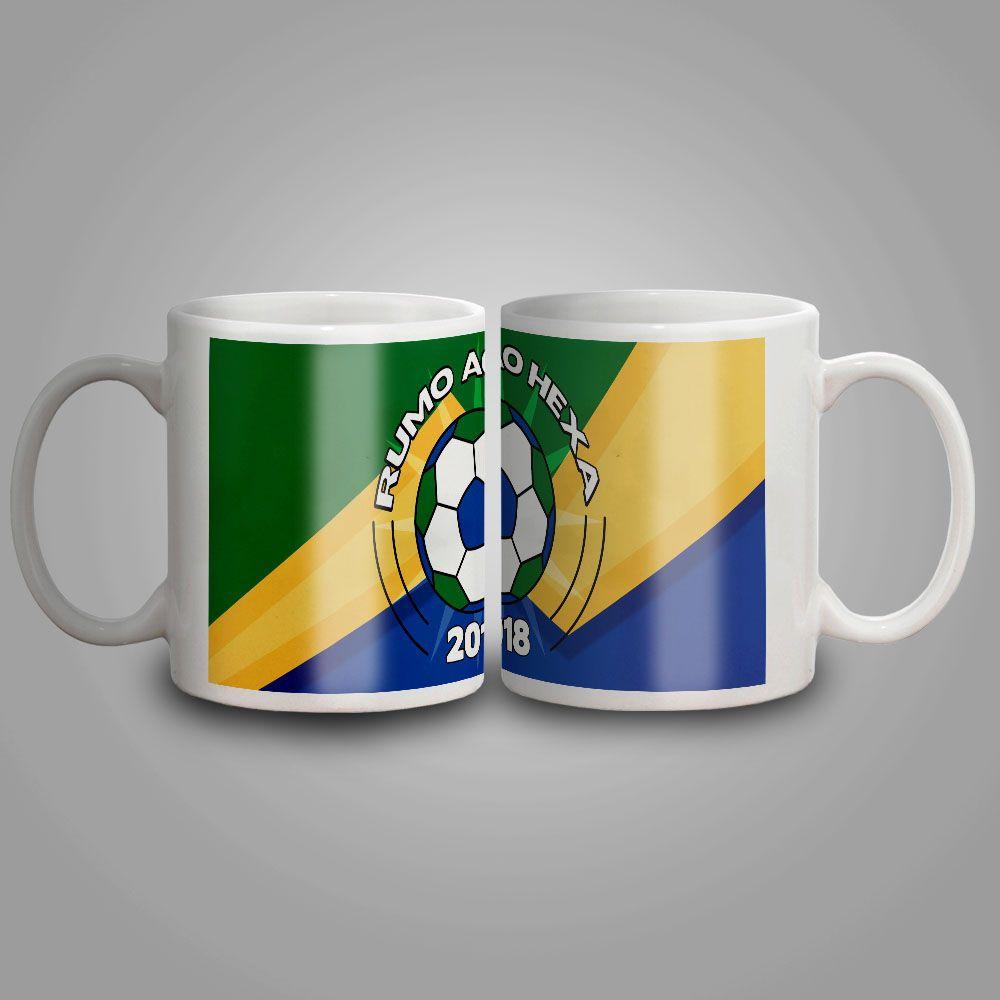 Caneca Cerâmica Copa do Mundo