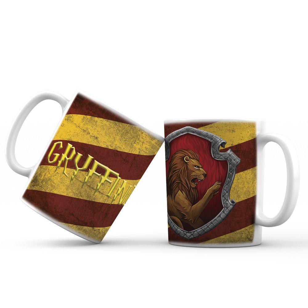 Caneca Gryffindor Linha Harry Potter