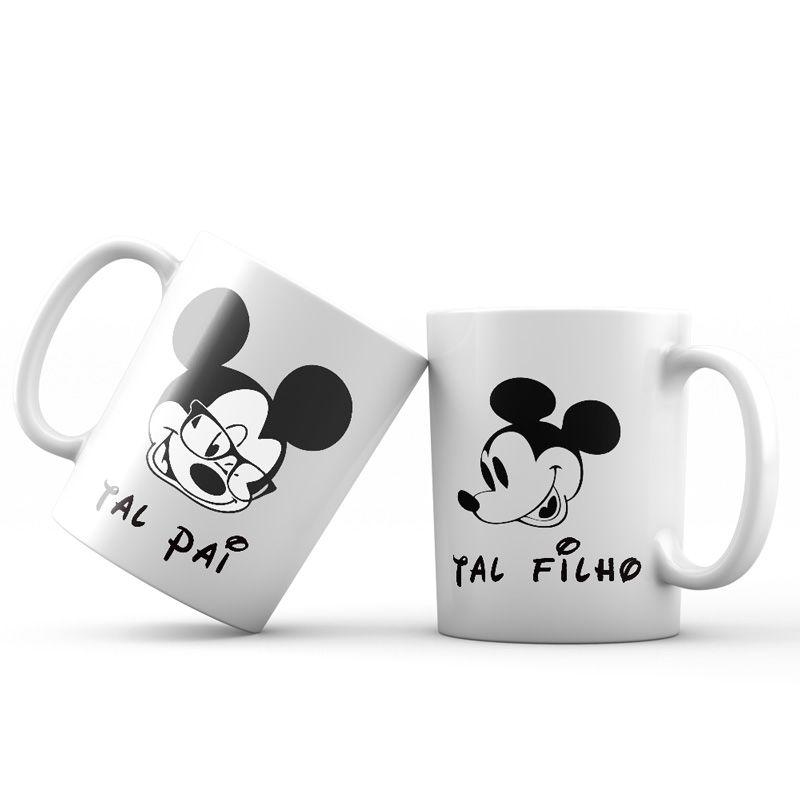Caneca Tal Pai Tal Filho Disney