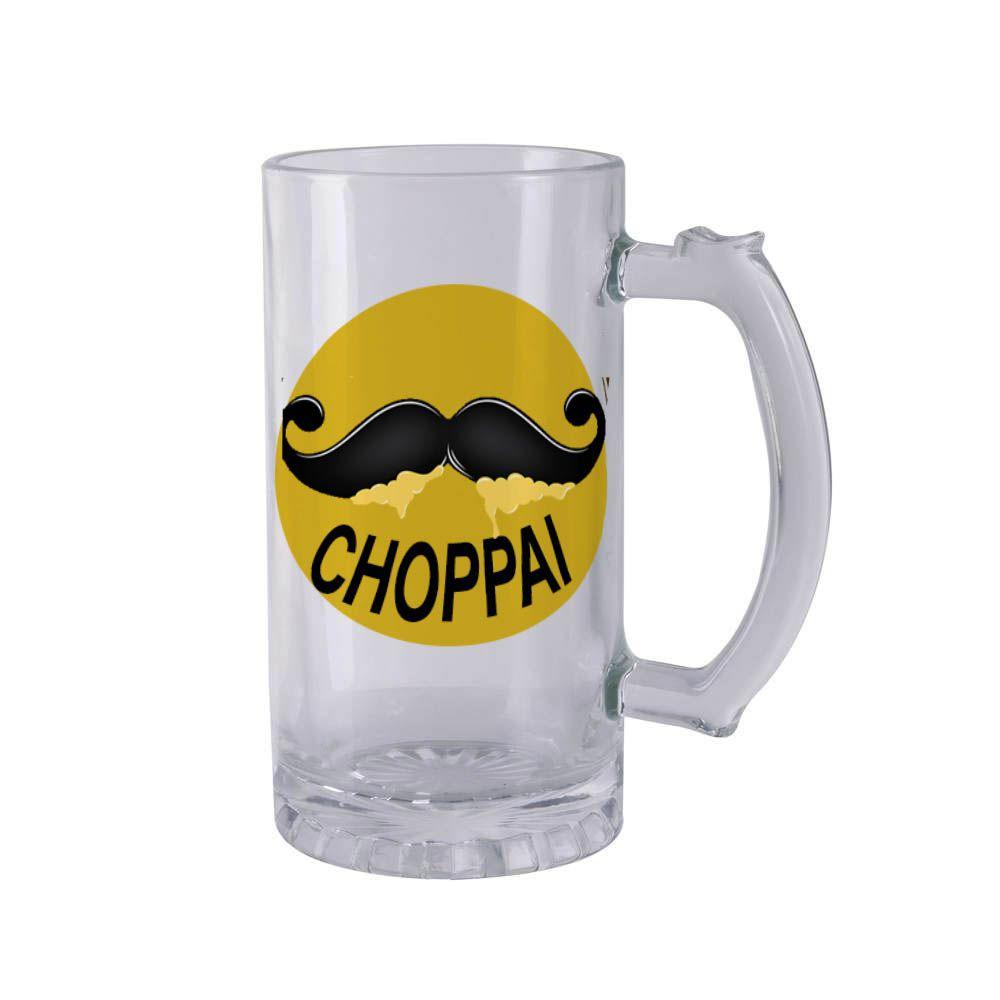 Caneco de Chopp de Vidro Choppai