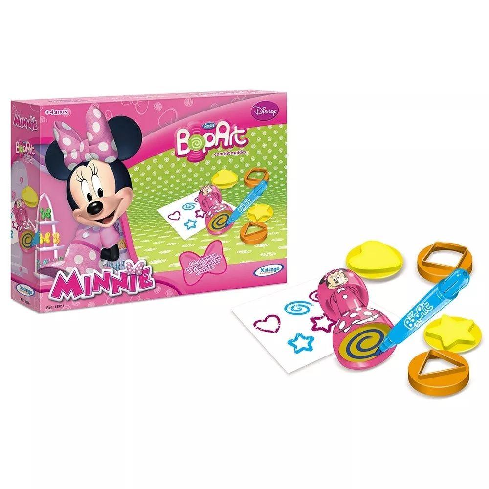 Carimbo Infantil Bopart Minnie Disney  Xalingo