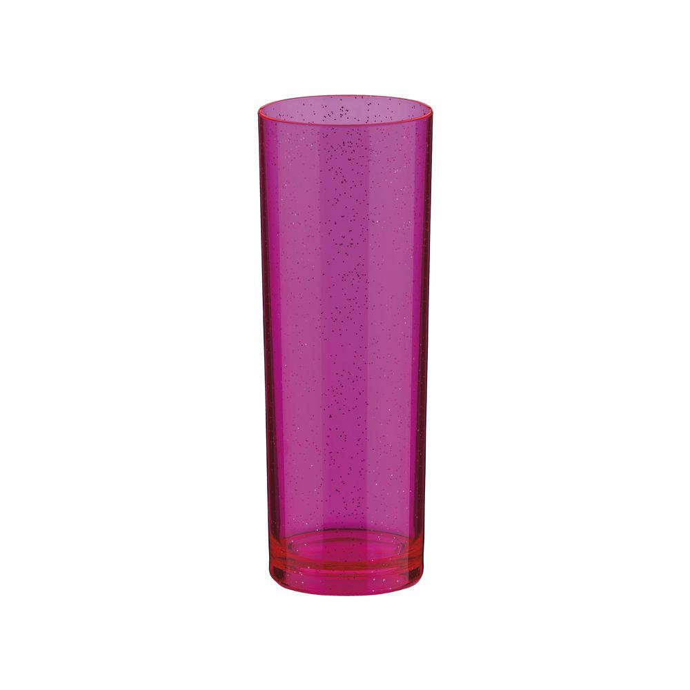Copo Long Drink com Glitter Acrílico